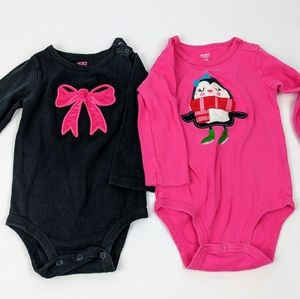 👾 3/$15 Carter's 18 month long sleeve bodysuits